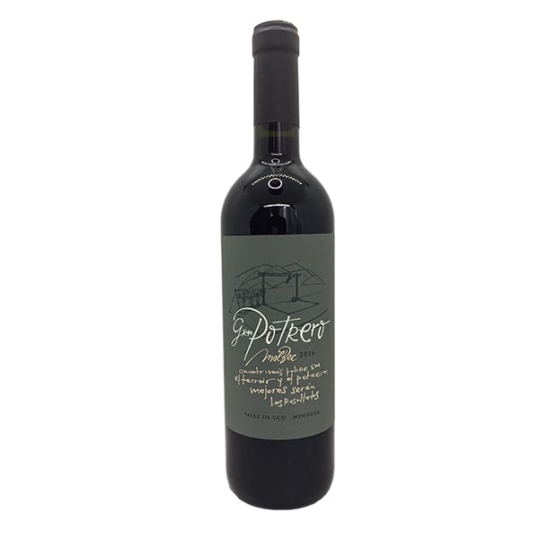 vino gran potrero malbec de vinos de potrero