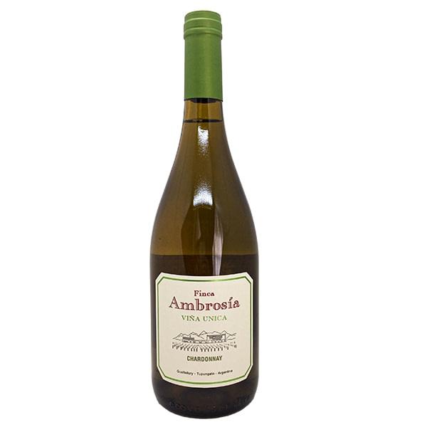 vino finca ambrosía viña única chardonnay vino blanco
