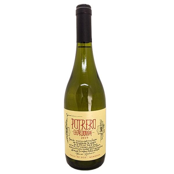vino chardonnay de potrero
