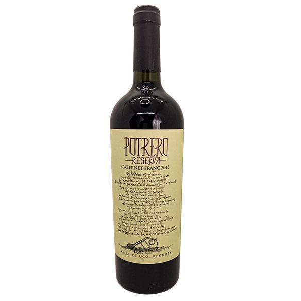 vino reserva de potrero cabernet franc