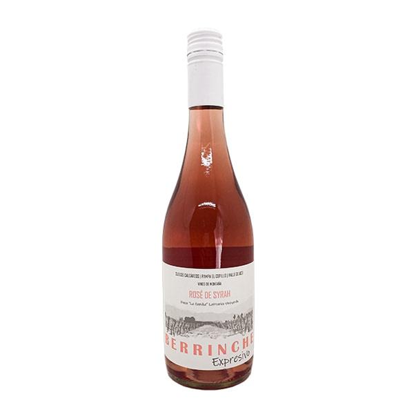 vino berrinche expresivo rosé de syrah