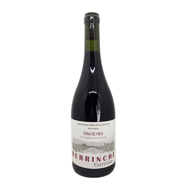 vino berrinche expresivo syrah de finca