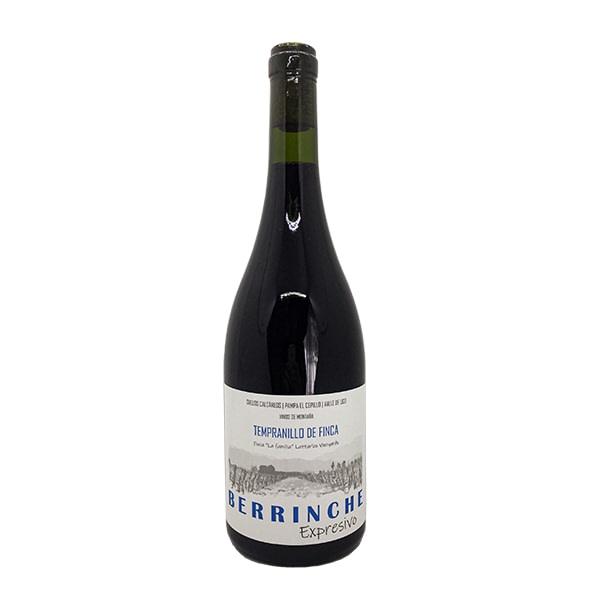 vino berrinche expresivo tempranillo de finca