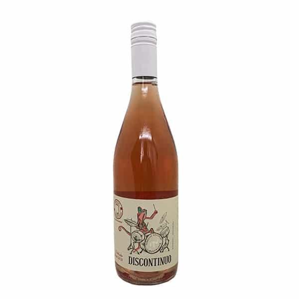 vino fow discontinuo nebbiolo rosé
