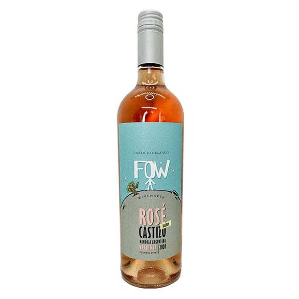 vino fow castizo rosé de fabricio orlando wines