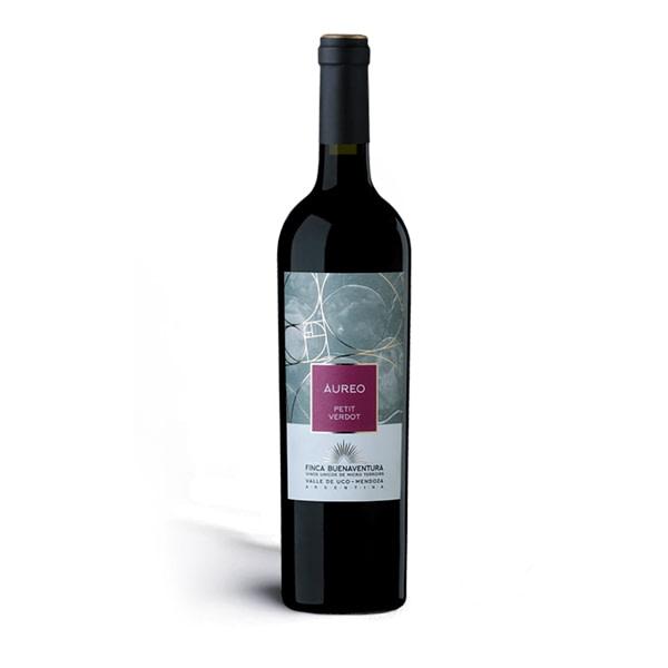 vino áureo petit verdot de finca buenaventura