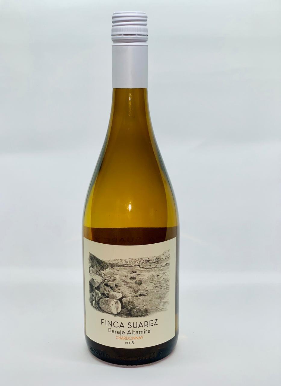 vino finca suárez chardonnay vino blanco